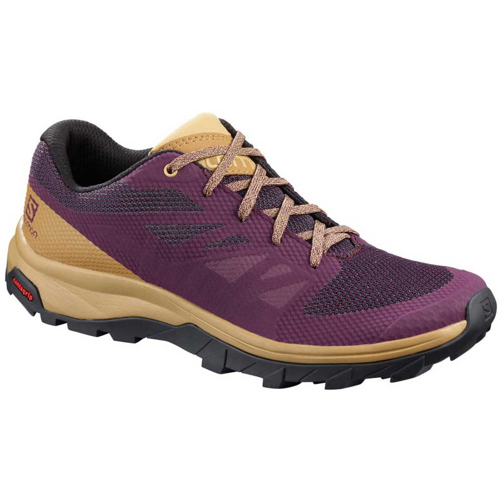 Salomon Outline EU 45 1/3 Potent Purple / Bistre / Taos Taupe