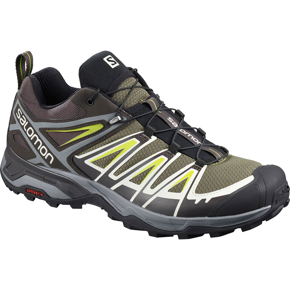 Salomon X Ultra 3 EU 46 Burnt Olive / Shale / Acid Lime