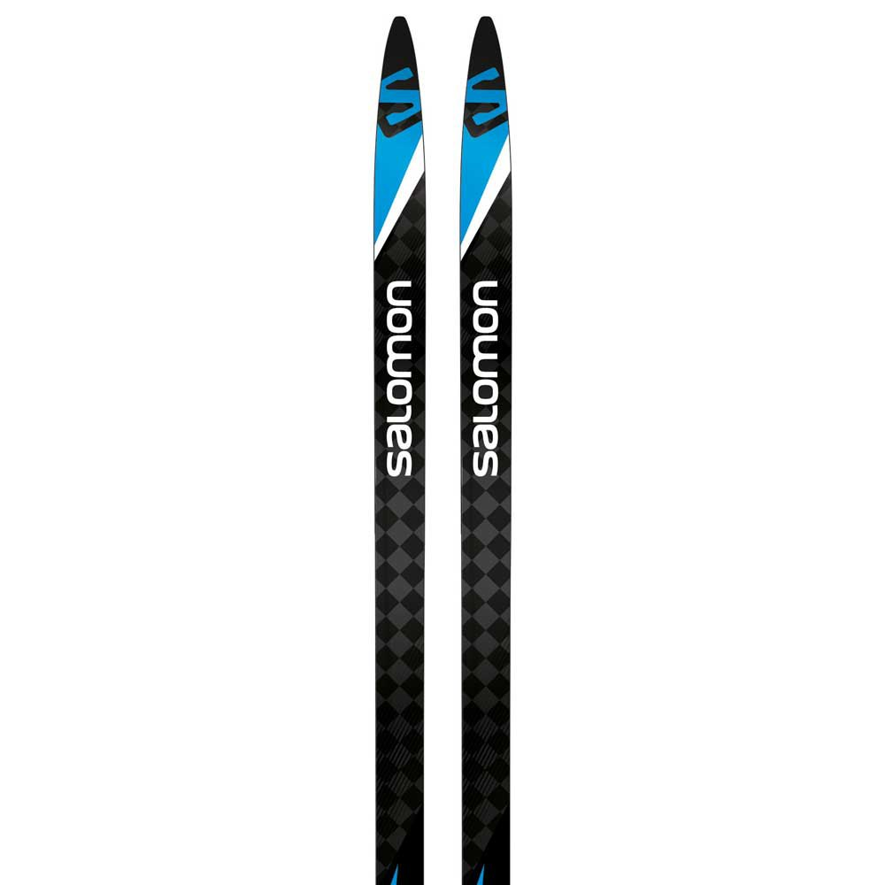Salomon S/race Carbon Skate Nordic Skis 176 Black / Blue