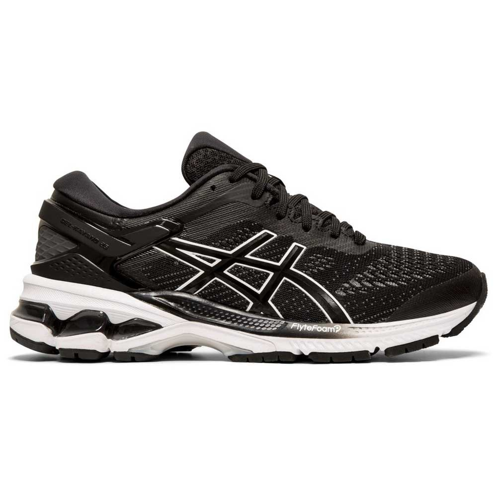 Asics Gel Kayano 26 EU 35 1/2 Black / White