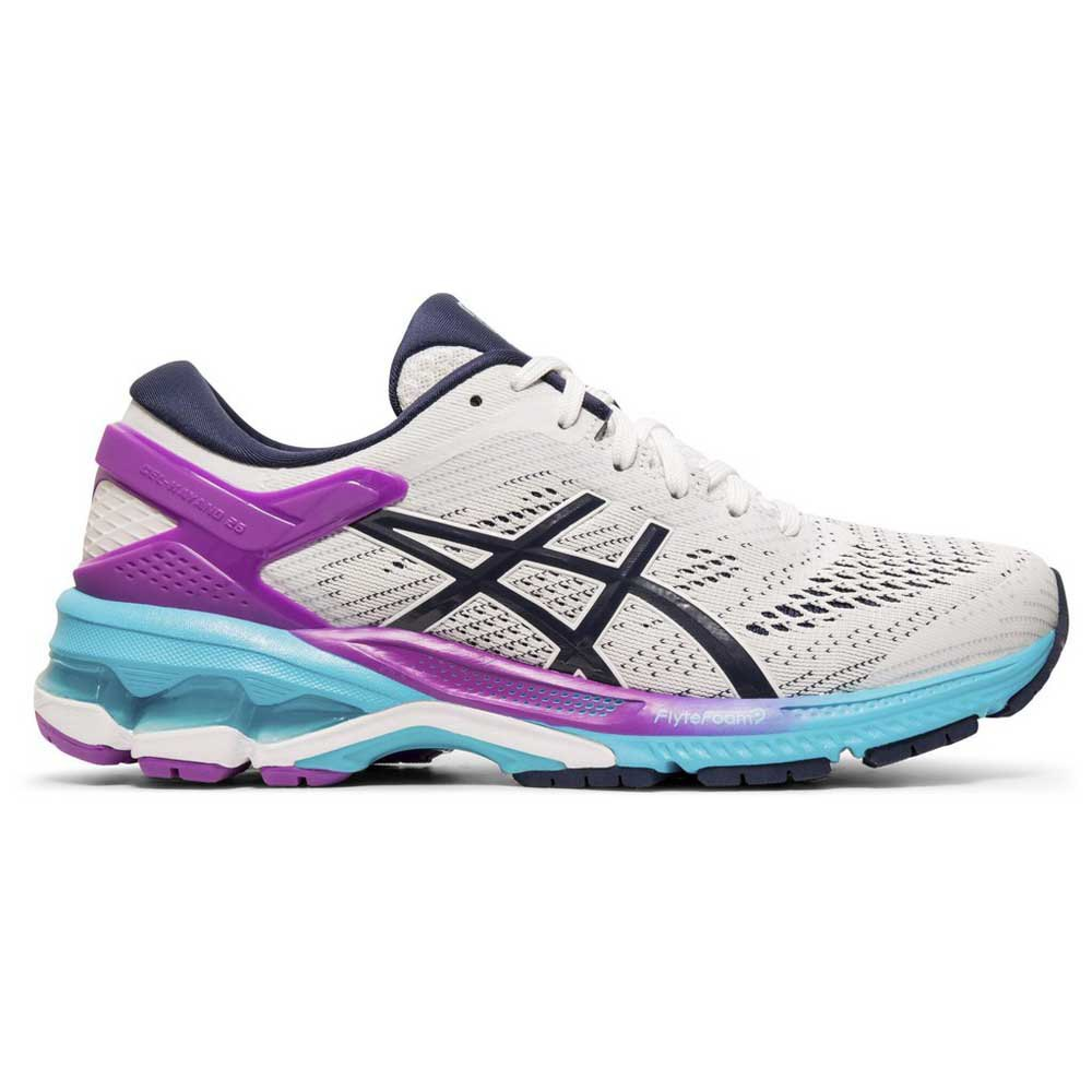 Asics Gel Kayano 26 EU 35 1/2 White / Purple