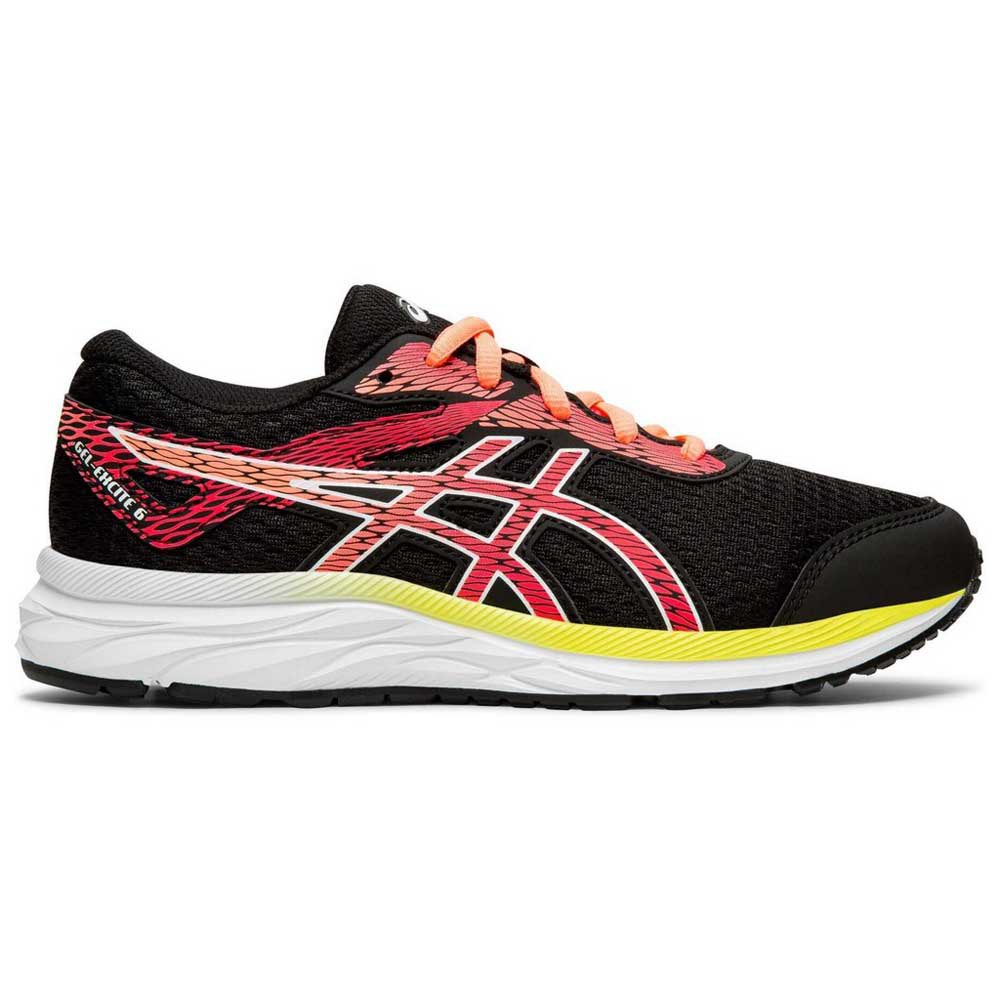 Asics Gel Excite 6 Gs EU 32 1/2 Black / Laser Pink