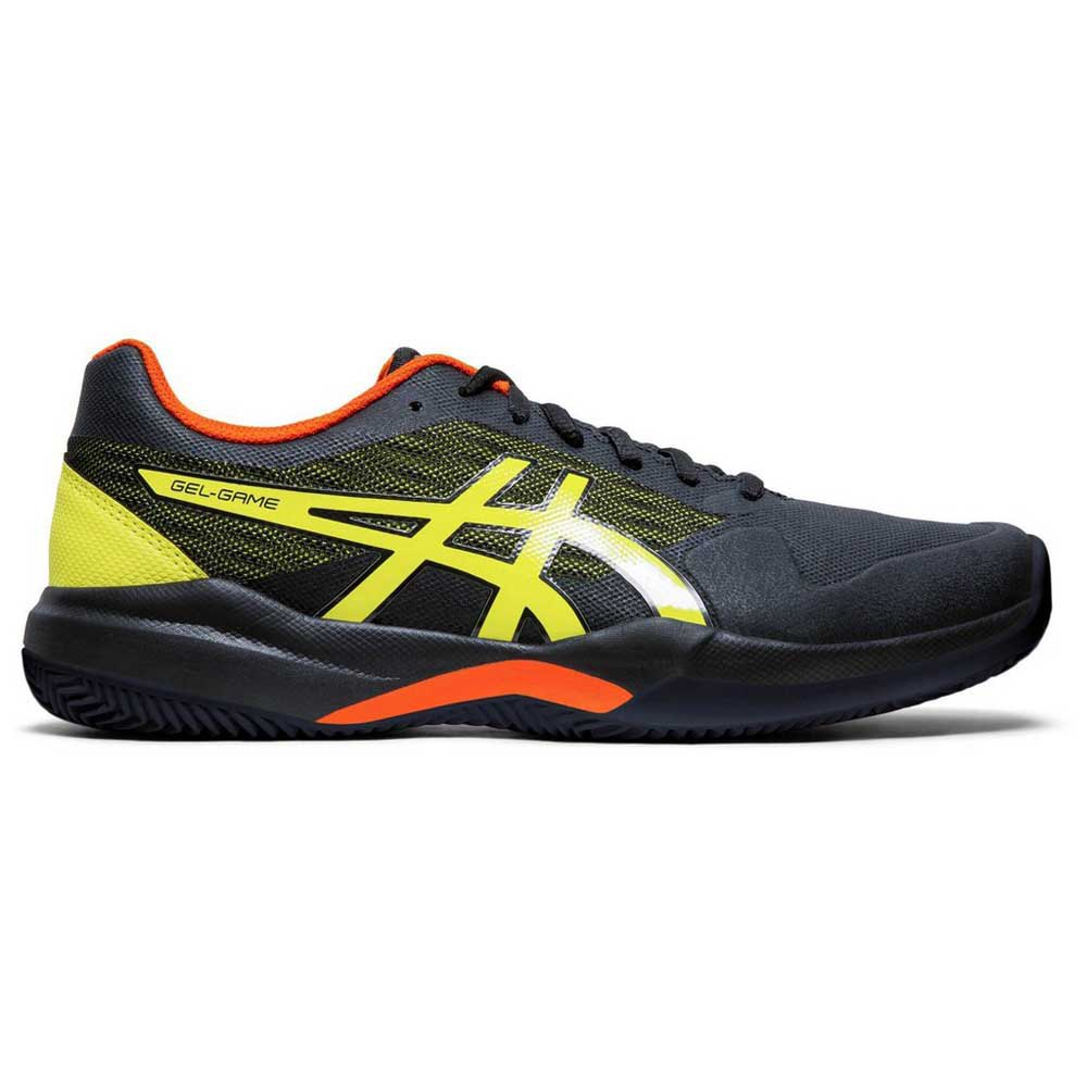 Asics Gel Game 7 Clay EU 47 Black / Sour Yuzu