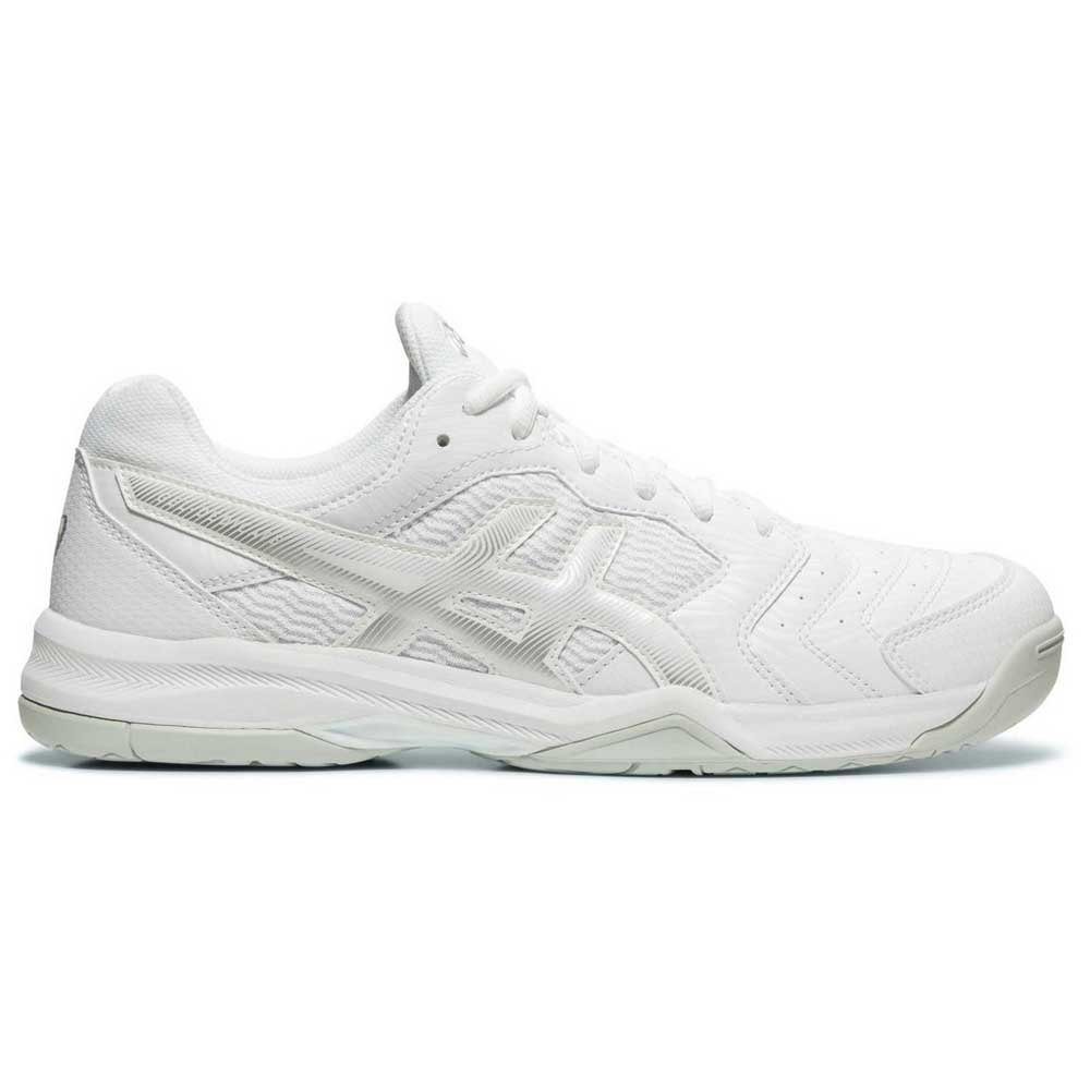 Asics Gel Dedicate 6 Hard Court EU 47 White / Silver