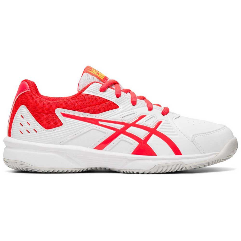 Asics Court Slide Clay Gs EU 37 White / Laser Pink