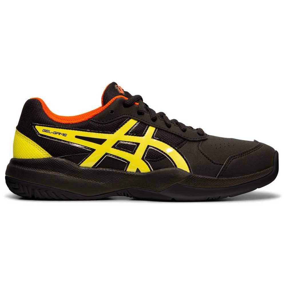 Asics Chaussures Gel Game 7 Gs EU 32 1/2 Black / Sour Yuzu