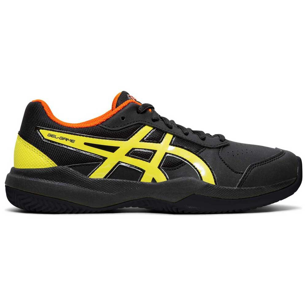 Asics Gel Game 7 Clay Gs EU 37 Black / Sour Yuzu