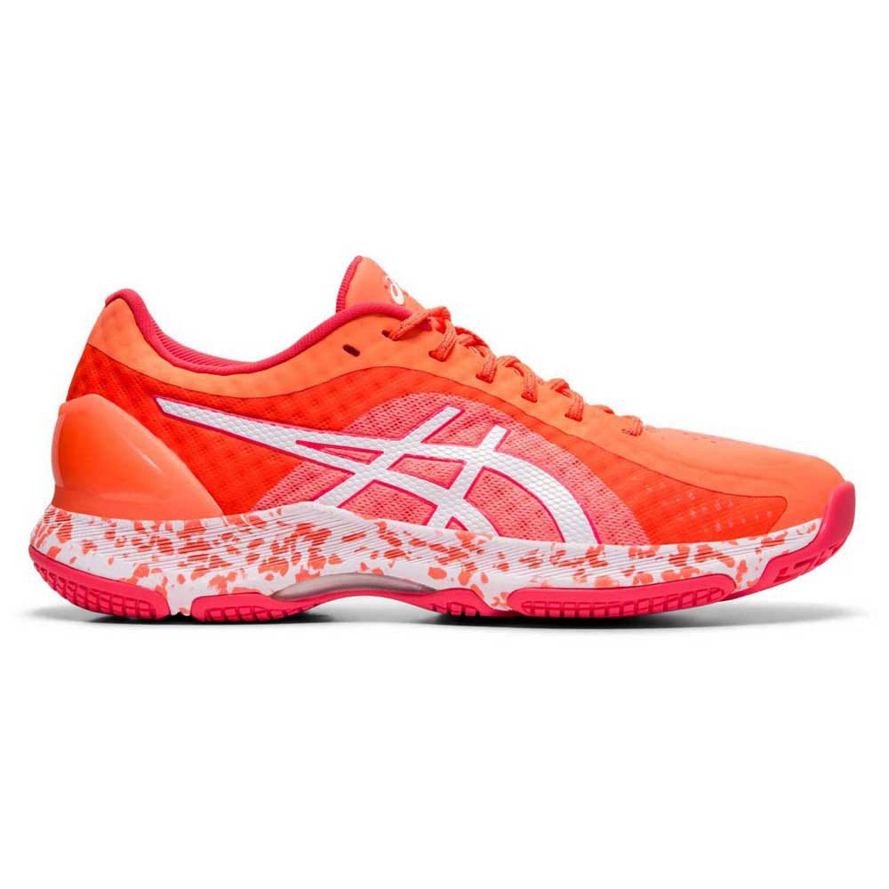 Asics Gel Netburner Super Ff EU 38 Flash Coral / White