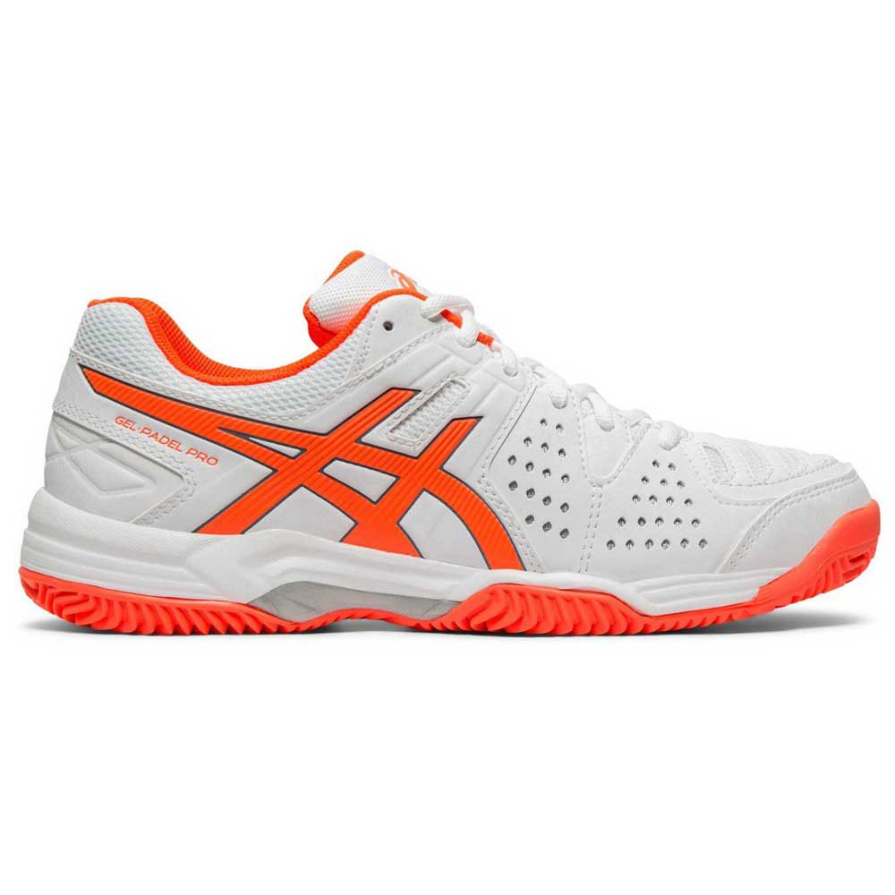 Asics Gel Padel Pro 3 Sg EU 37 White / Flash Coral