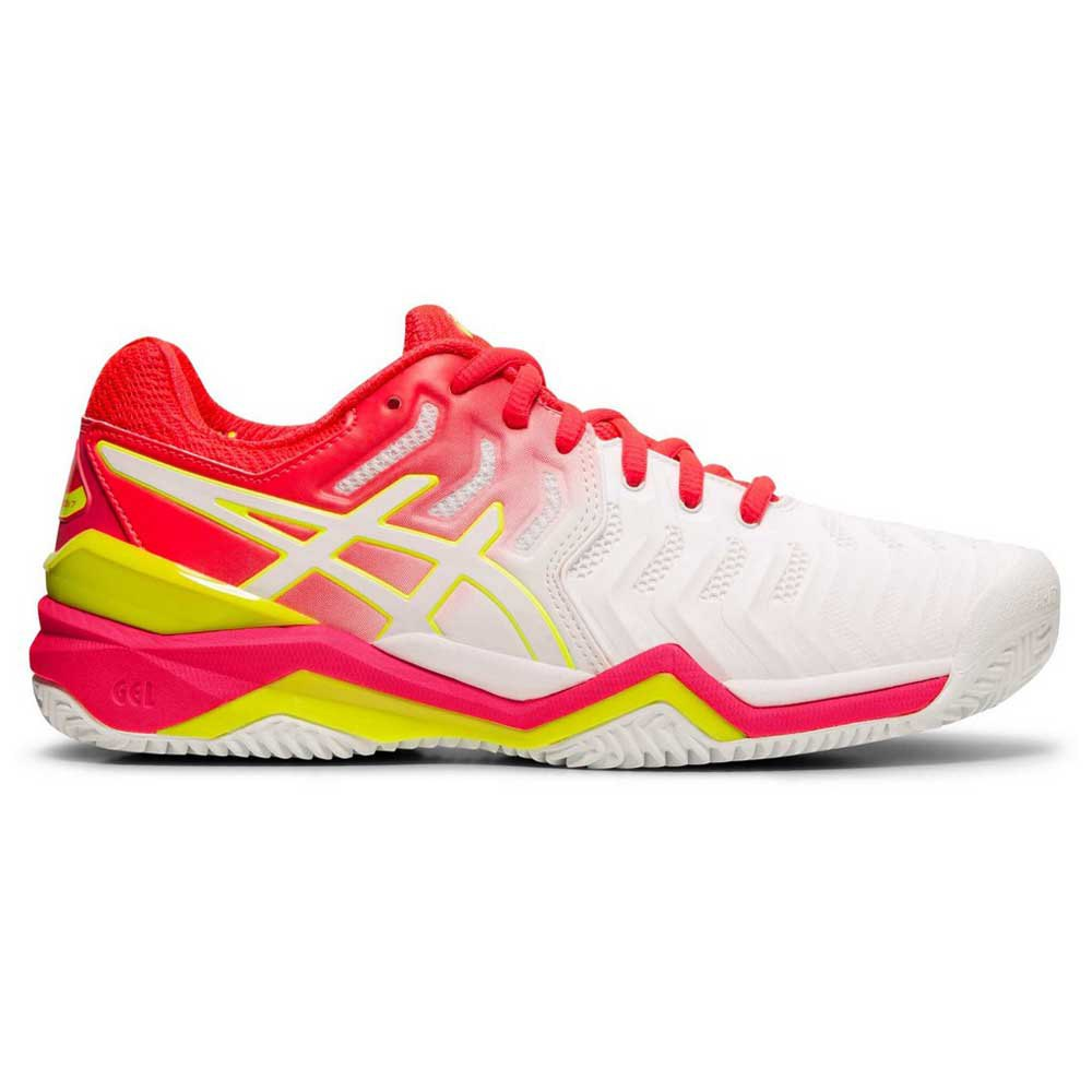 Asics Gel Resolution 7 Clay EU 37 White / Laser Pink