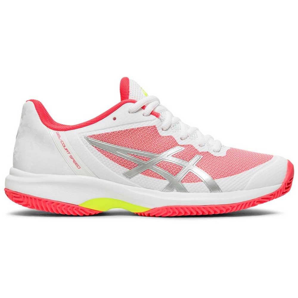 Asics Gel Court Speed Clay EU 36 White / Laser Pink