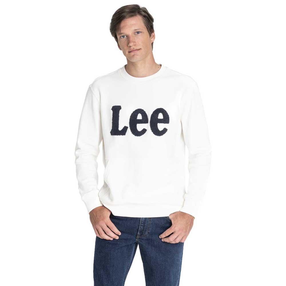 Lee Boucle Crew Sws L Off White