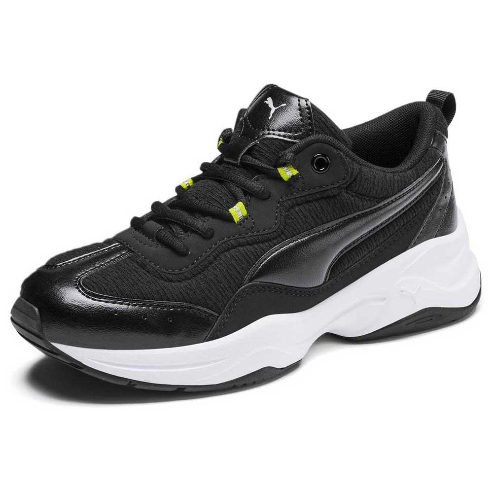zapatillas puma negro mujer