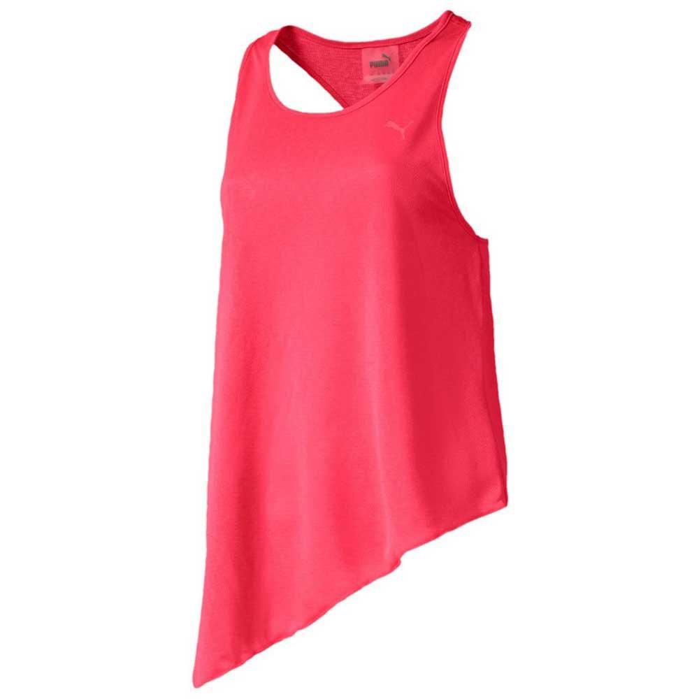 Puma T-shirt Sans Manches Ace Mono XS Pink Alert