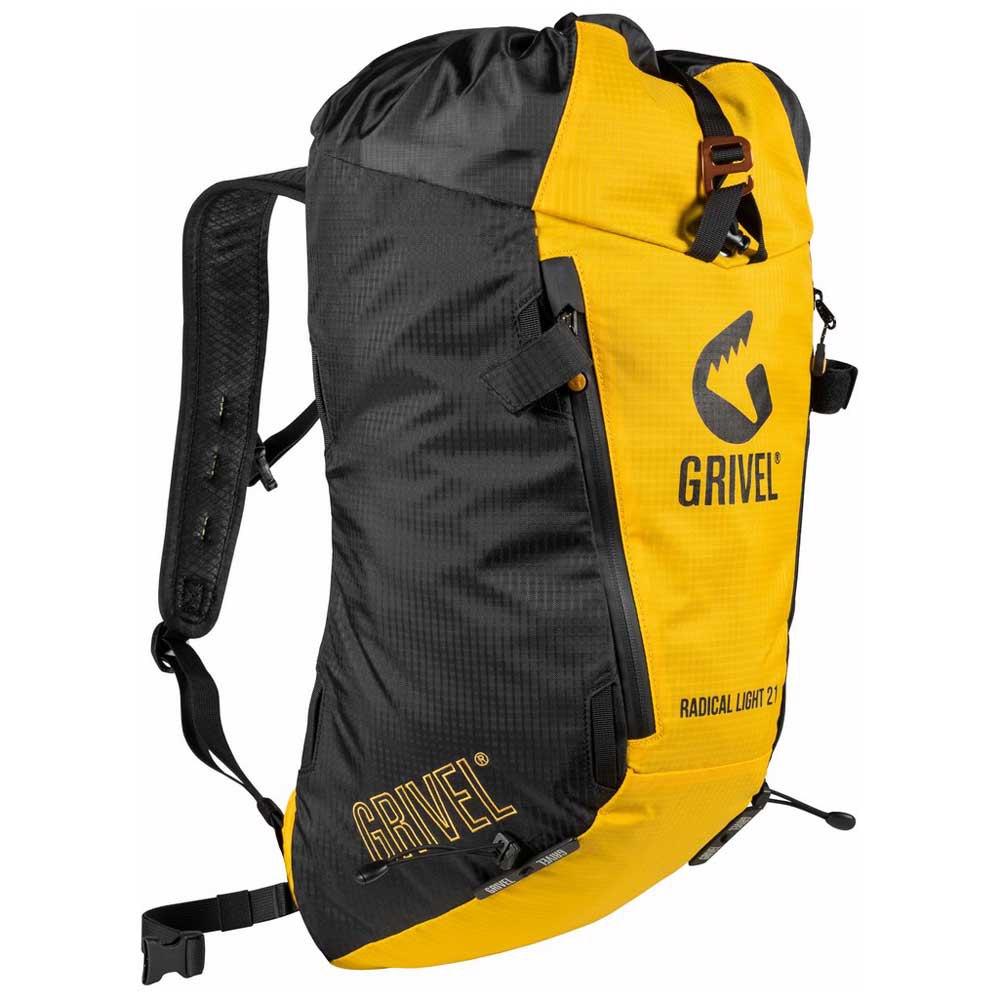 Grivel Sac À Dos Radical Light 21l One Size Black / Yellow