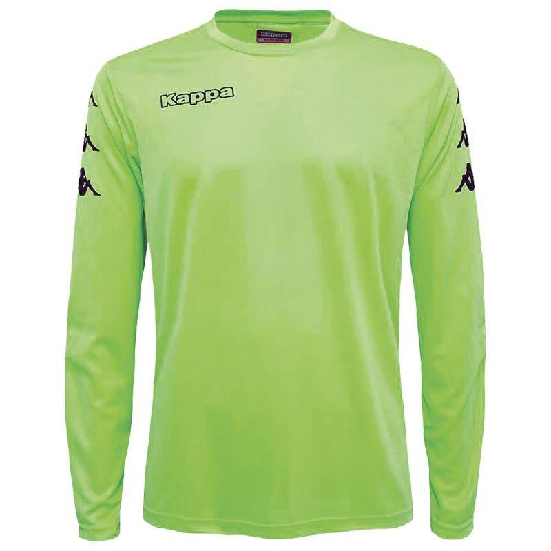 Kappa Goalkeeper T-shirt Manche Longue 6 Years Green Fluor