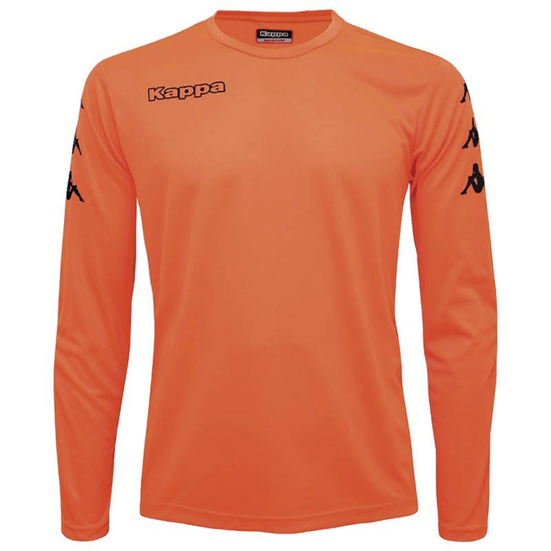 Kappa Goalkeeper T-shirt Manche Longue 6 Years Red Fluor