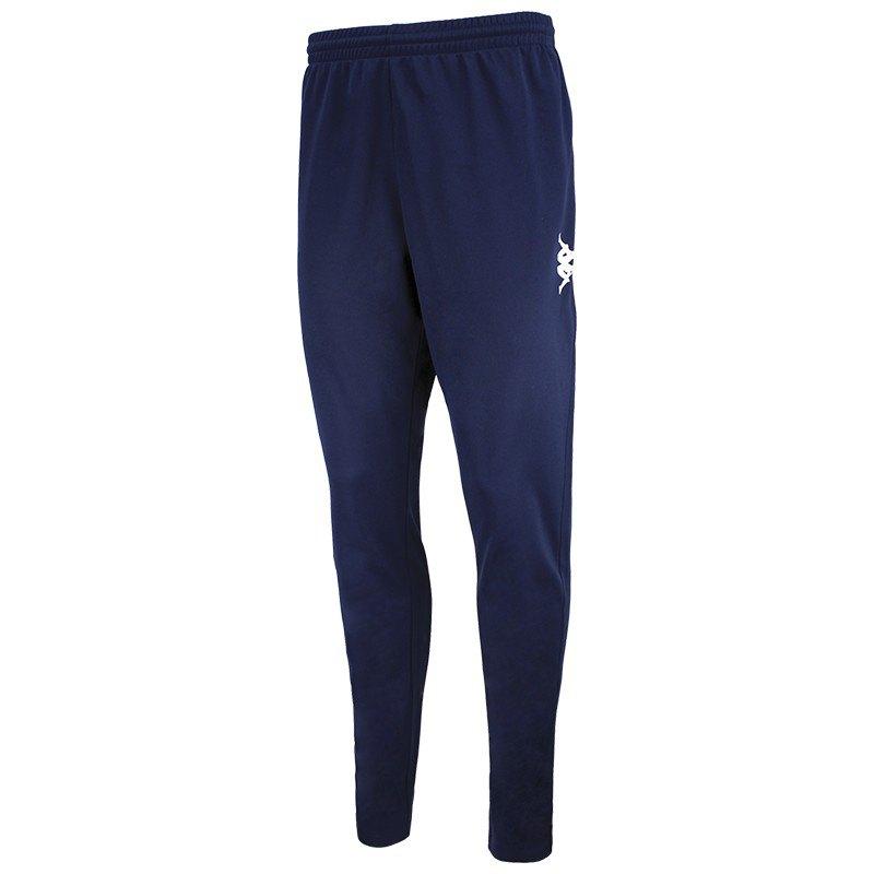 Kappa Pantalon Longue Ponte Ultra Fit S Blue Marine / White