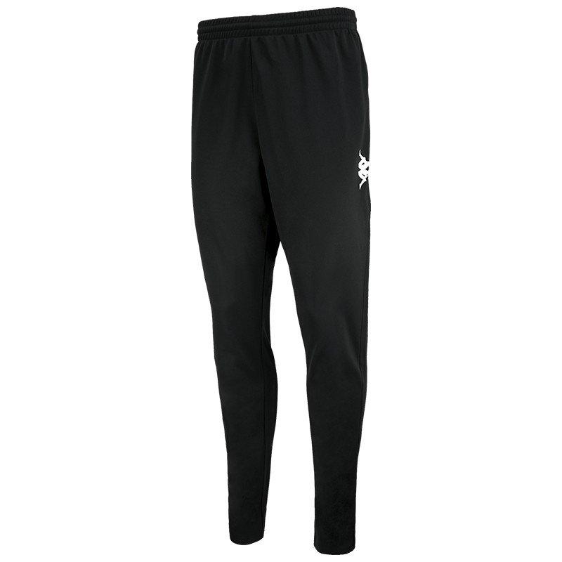 Kappa Pantalon Longue Ponte Ultra Fit 6 Years Black / White