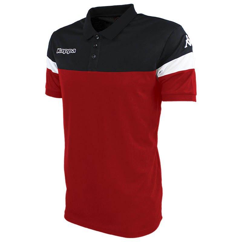 Kappa Polo Manche Courte Salto 6 Years Red / Black / White