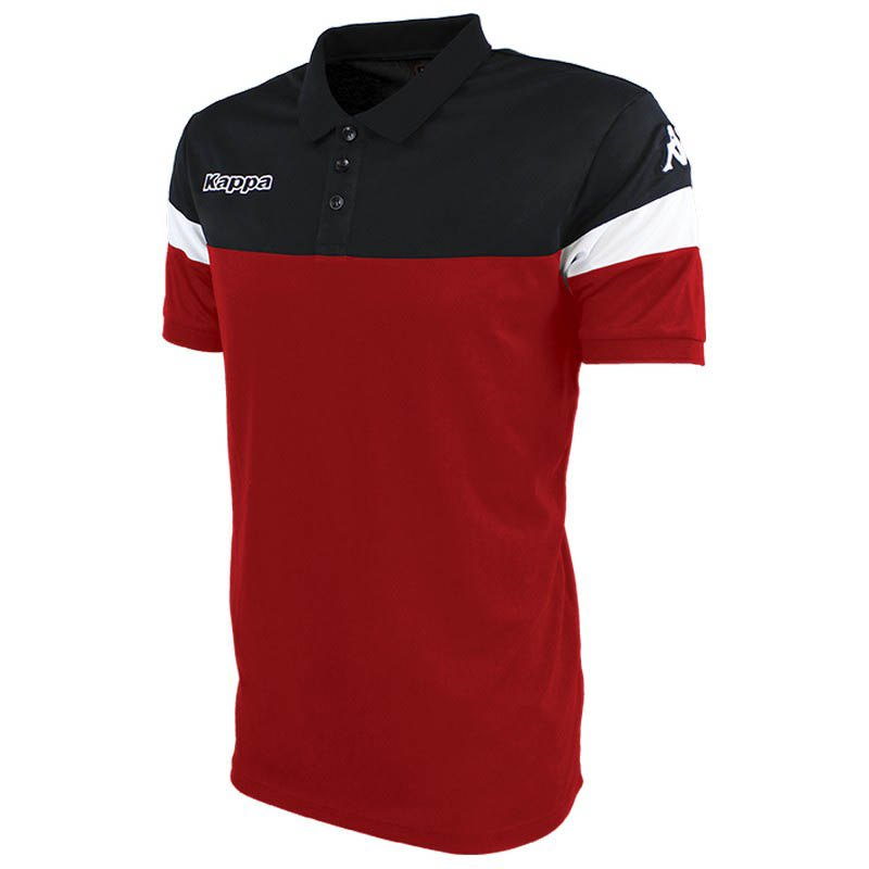 Kappa Polo Manche Courte Salto XXXXL Red / Black / White