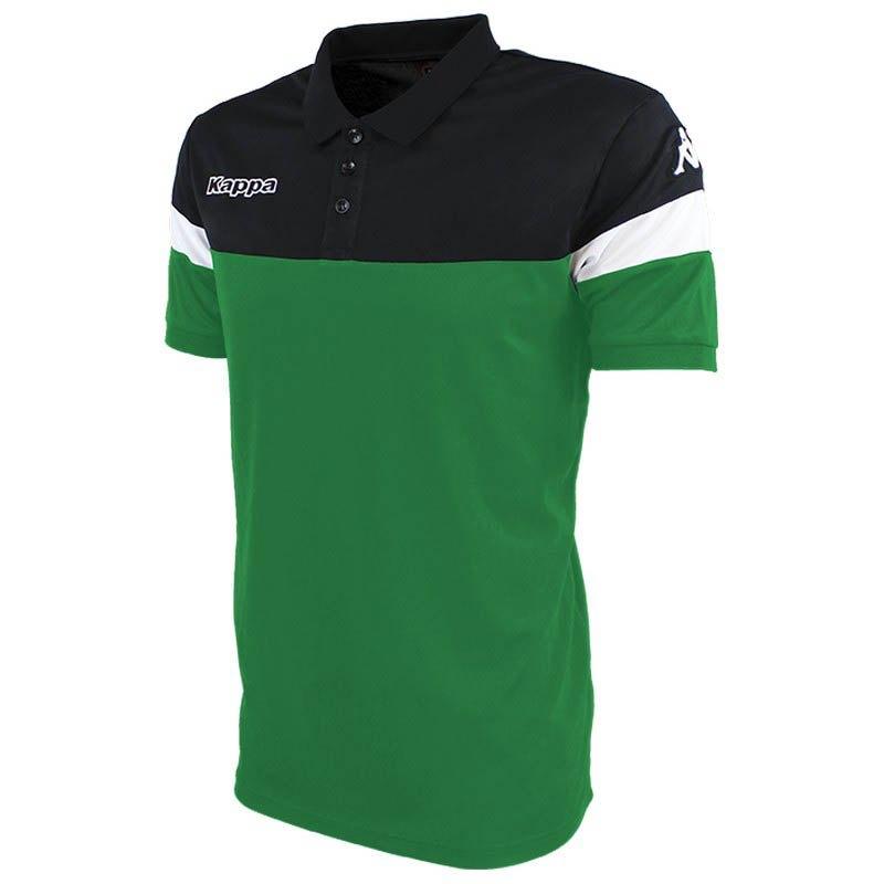 Kappa Polo Manche Courte Salto XXXXL Green / Black / White