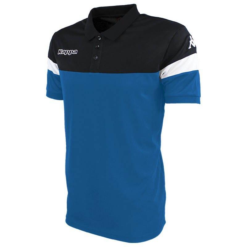 Kappa Polo Manche Courte Salto XL Blue Nautic / Black / White
