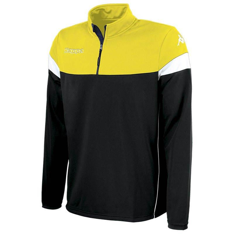 Kappa Sweatshirt Novare S Black / Yellow / White