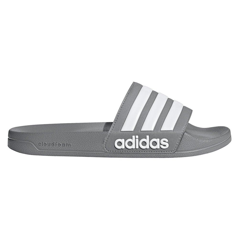 Adidas Adilette Shower EU 53 1/3 Grey Three / Ftwr White / Grey Three