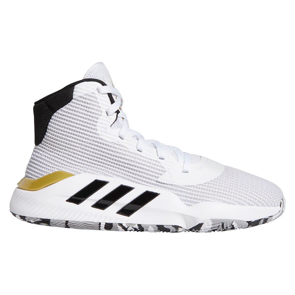 Adidas Pro Bounce EU 41 1/3 Ftwr White / Core Black / Gold Metal