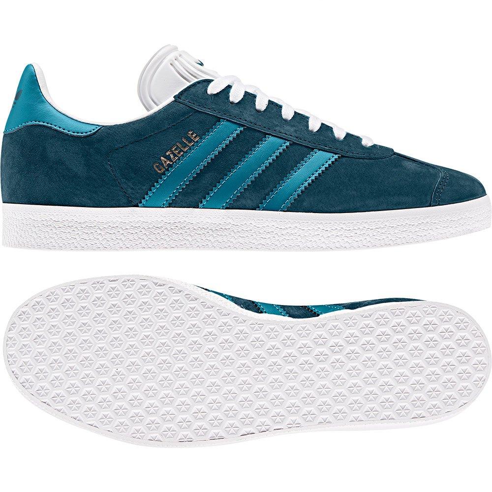 gazelle adidas mujer azul