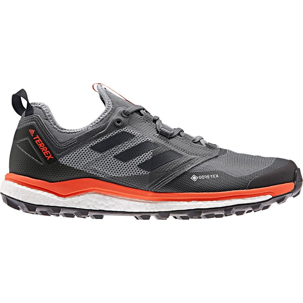 Adidas Terrex Agravic Xt Goretex EU 38 2/3 Grey Three / Core Black / Active Orange