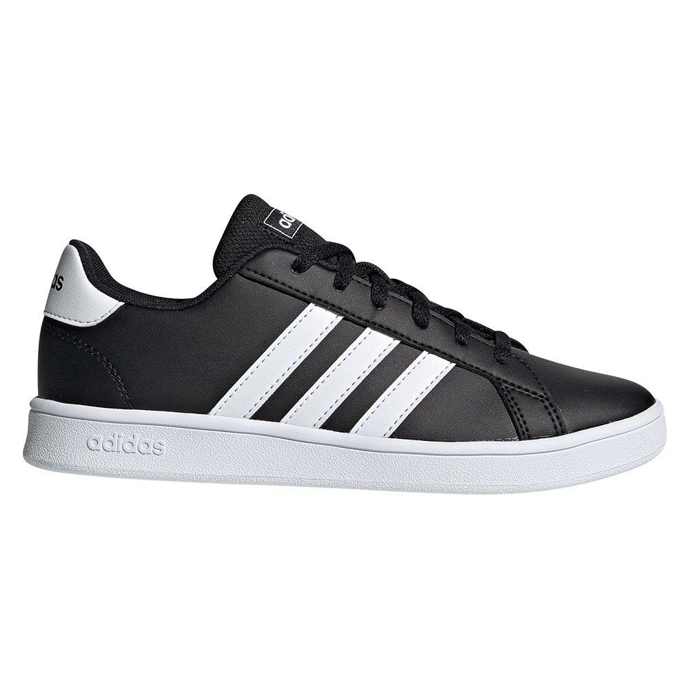 Sneaker Adidas Adidas Grand Court Kid EU 40 Core Black / Ftwr White / Ftwr White