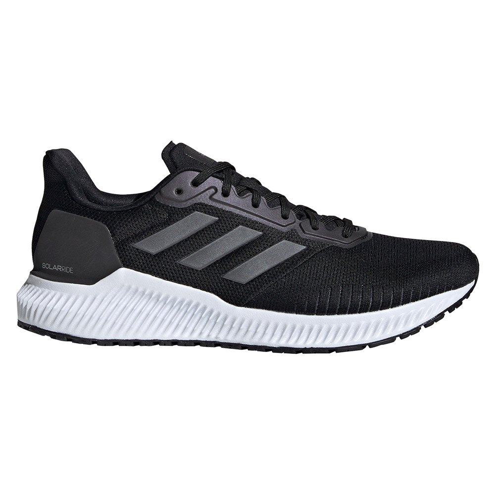 Adidas Solar Ride EU 42 2/3 Core Black / Night Metal / Ftwr White
