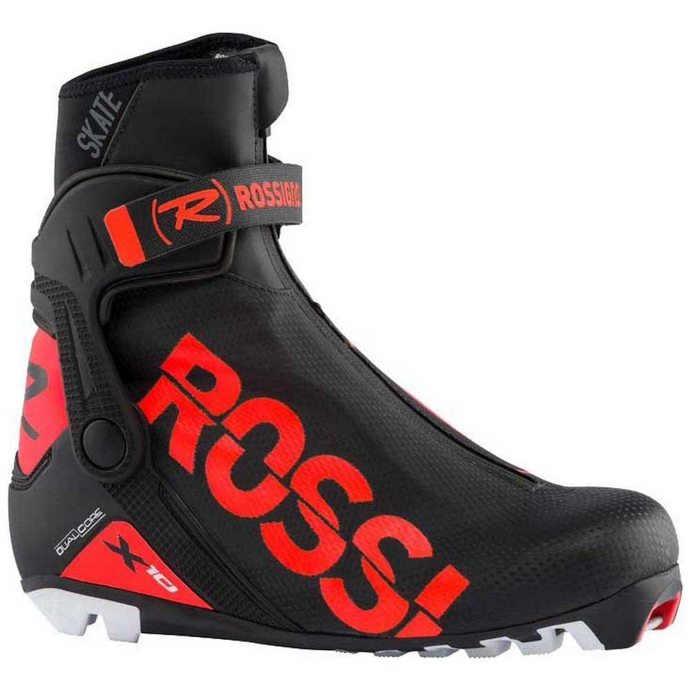 Rossignol Chaussure Ski Nordique X-10 Skate EU 41 Black