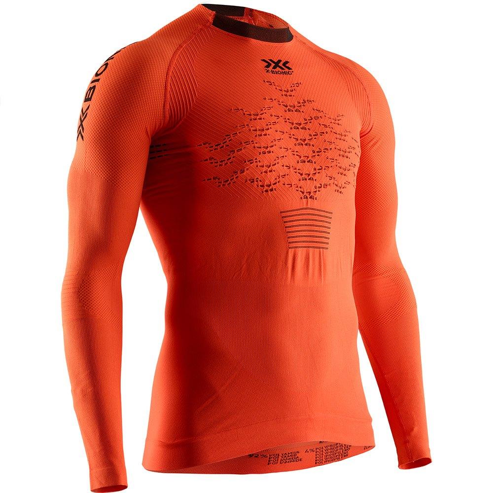 X-bionic The Trick 4.0 Run Long Sleeve T-shirt S Trick Orange / Black