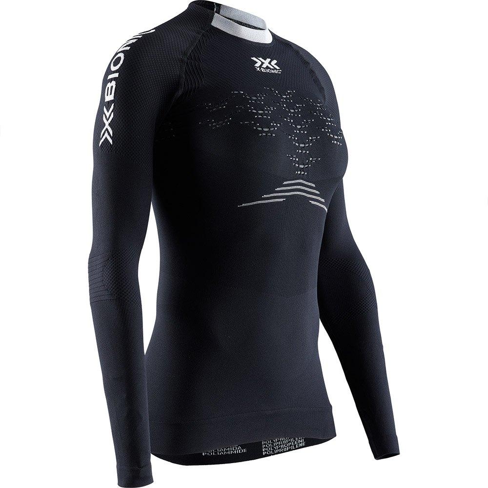 X-bionic The Trick 4.0 Run Long Sleeve T-shirt XS Opal Black / Arctic White