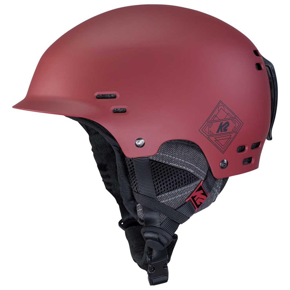 K2 Casque Thrive M Deep Red