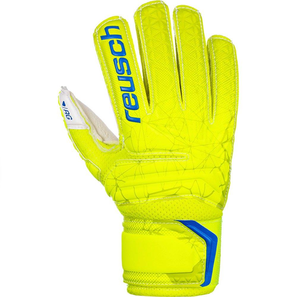 Reusch Gants Gardien Fit Control Rg Open Cuff Finger Sup 4 Lime / Safety Yellow