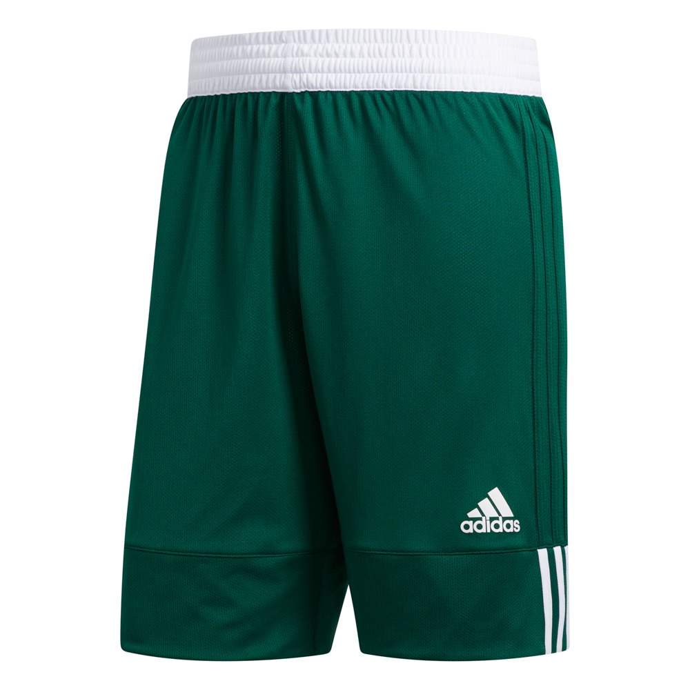 Adidas Short 3g Speed Reversible XXS Dark Green / White