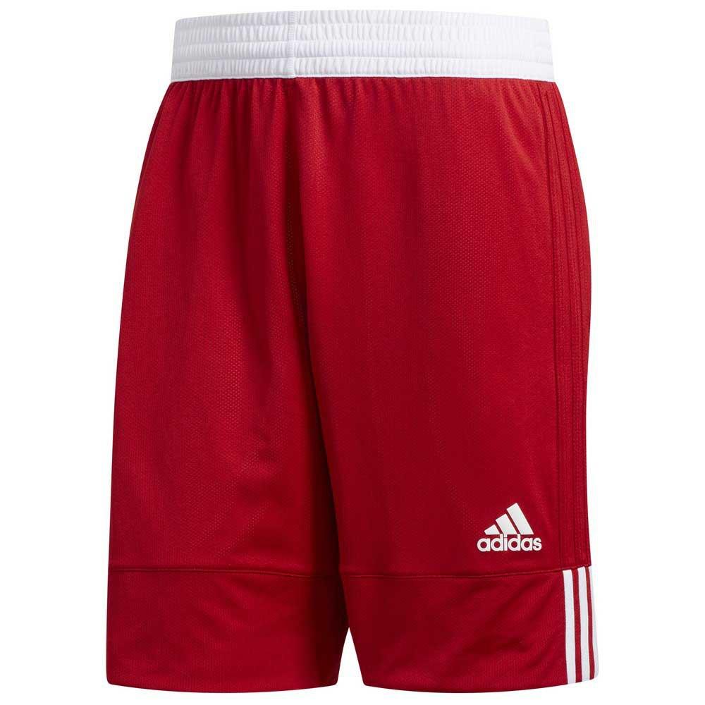 Adidas Short 3g Speed Reversible S Power Red / White