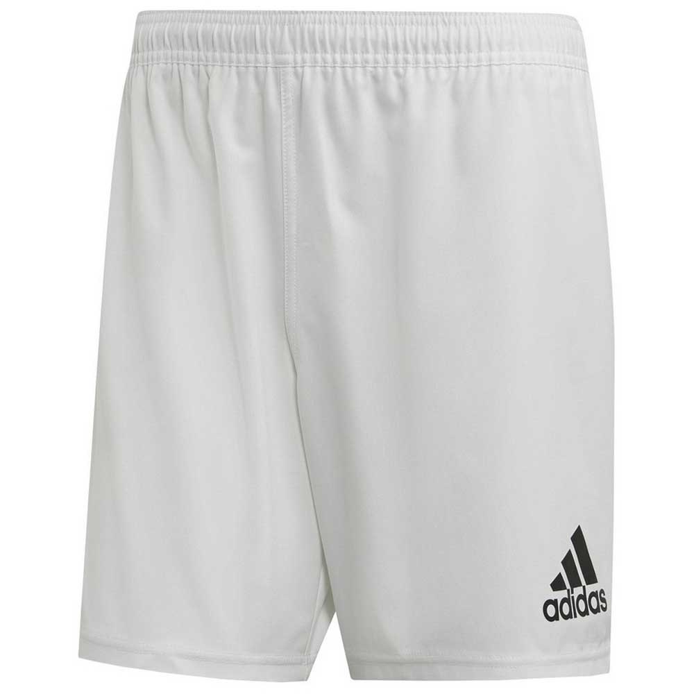 Adidas Short Classic 3 Stripes Rugby L White / Black