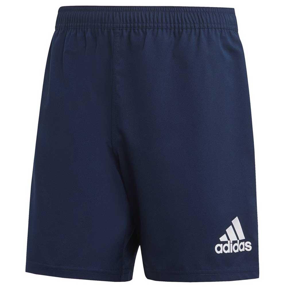 Adidas Short Classic 3 Stripes Rugby XXXL Collegiate Navy / White