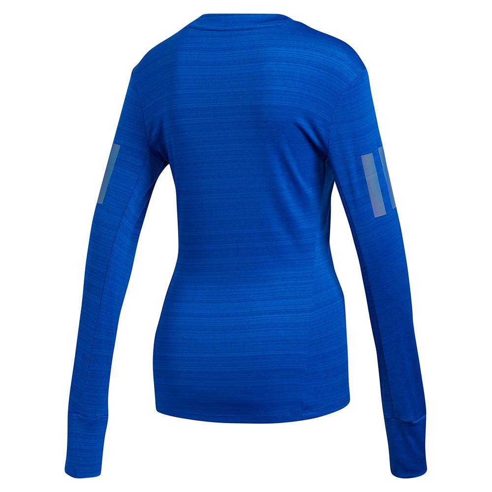 Adidas-Rise-Up-N-Run-Bleu-T04183-T-Shirts-Femme-Bleu-T-Shirts-adidas miniature 8