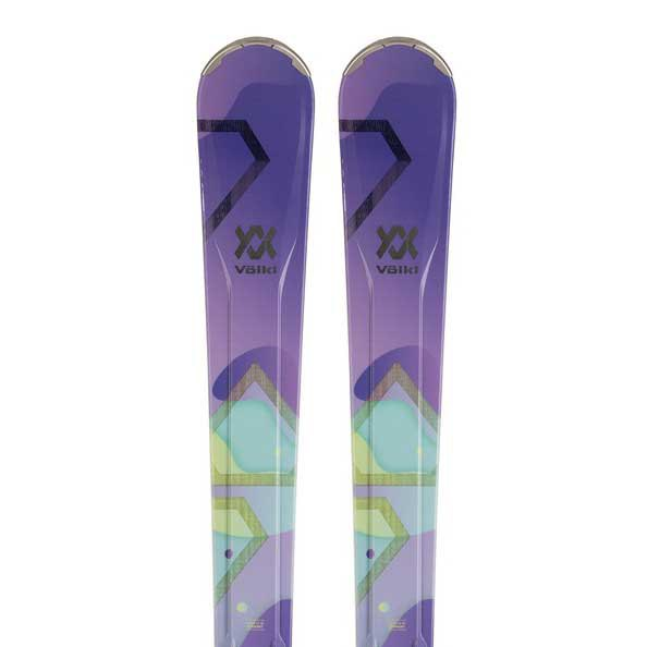 Volkl Flair 81 Carbon+ipt Wr Xl 11 Tcx Gw Woman Alpine Skis 163 Violet