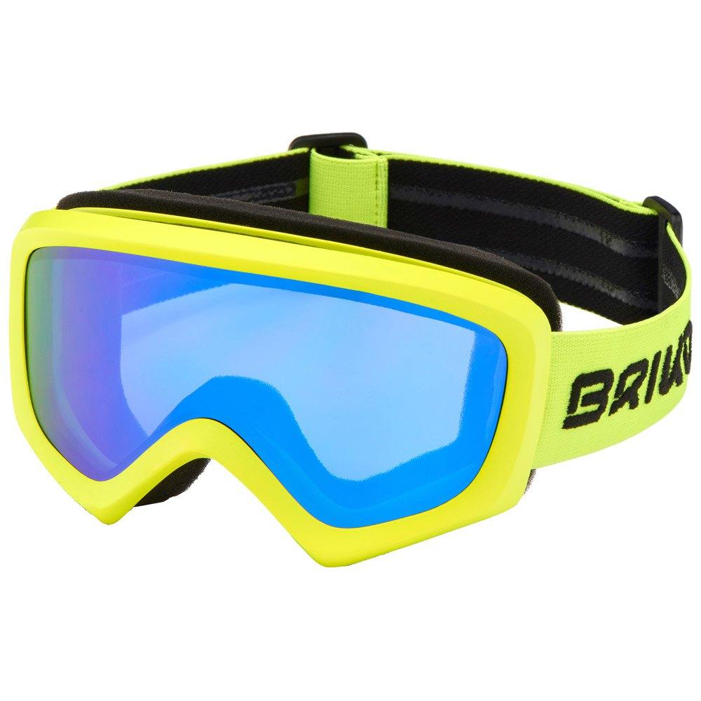 Briko Geyser Geel T82575 Ski Goggles Unisex YelLaag, SkiGoggles Briko, ski