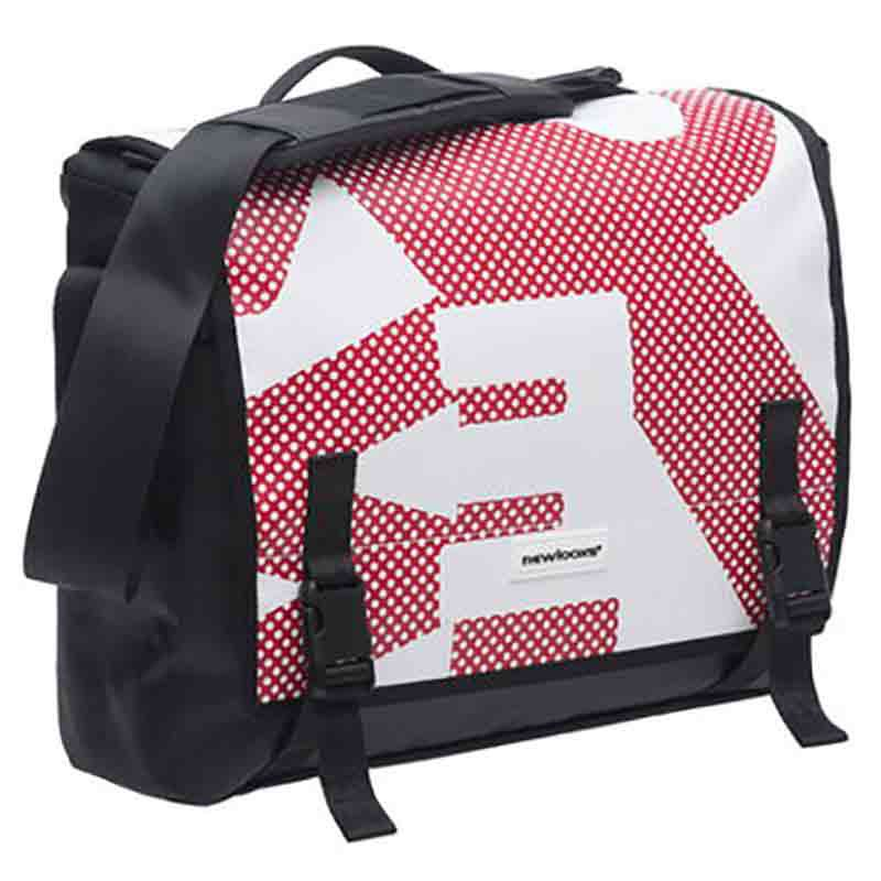 New Looxs Messenger Postino Office 14l One Size Red / White / Black