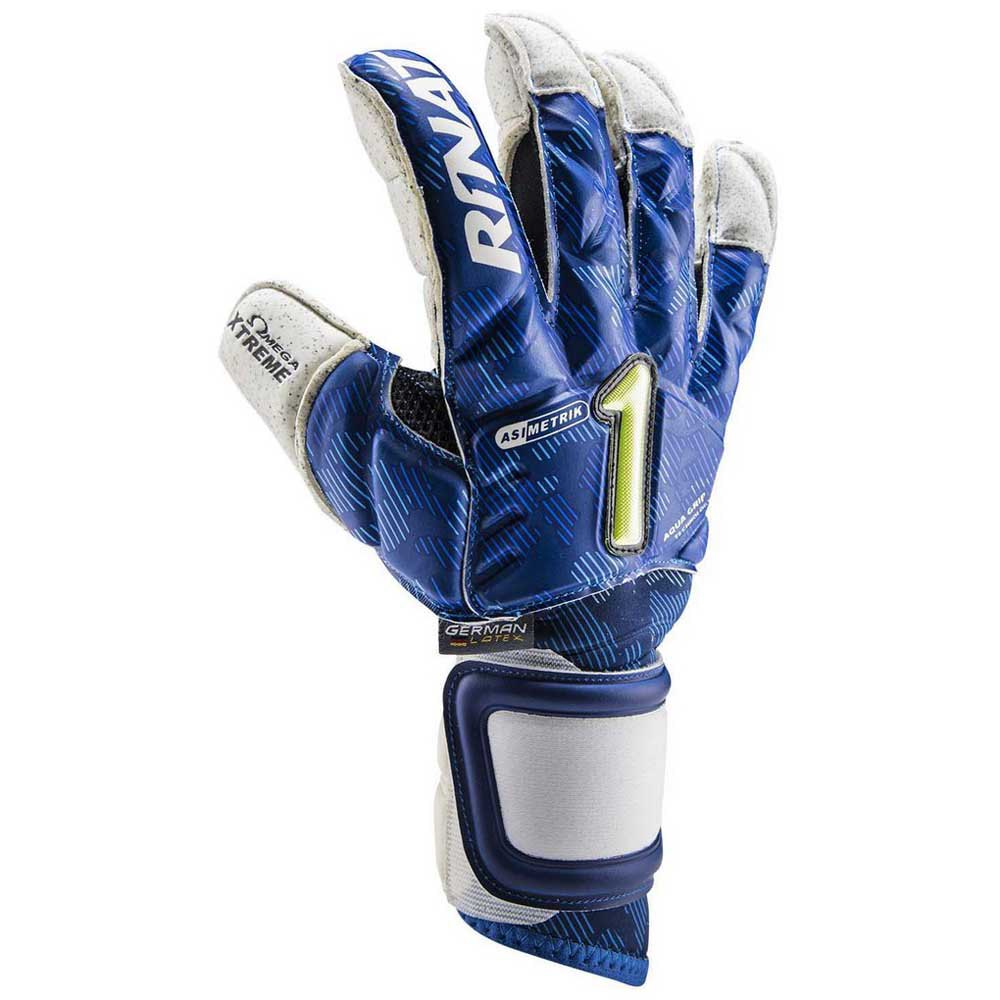 Rinat Asimetrik Hunter Pro Goalkeeper Gloves 7 Blue / White / Black