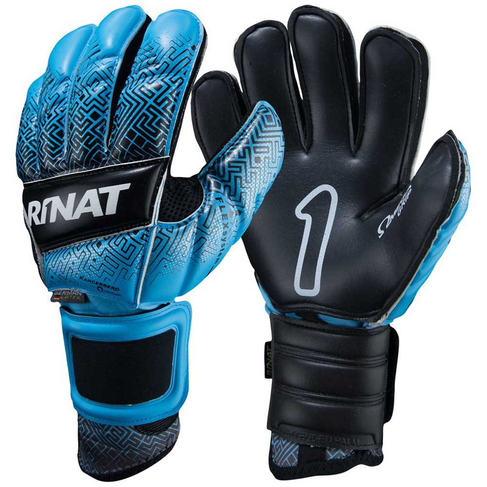 Rinat Kancerbero Quantum Pro Goalkeeper Gloves 7 Black / Blue