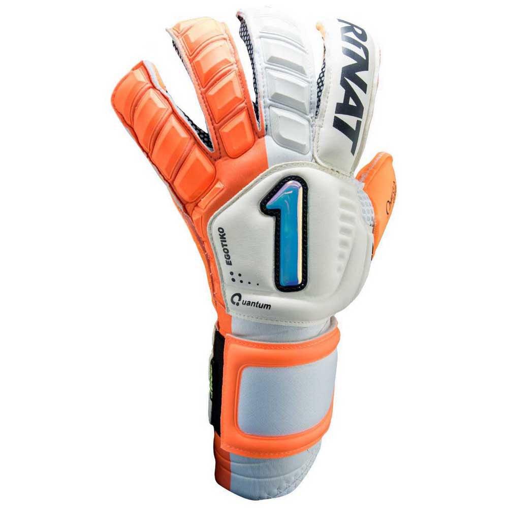 Rinat Egotiko Qauntum Pro Goalkeeper Gloves 7 Orange / White